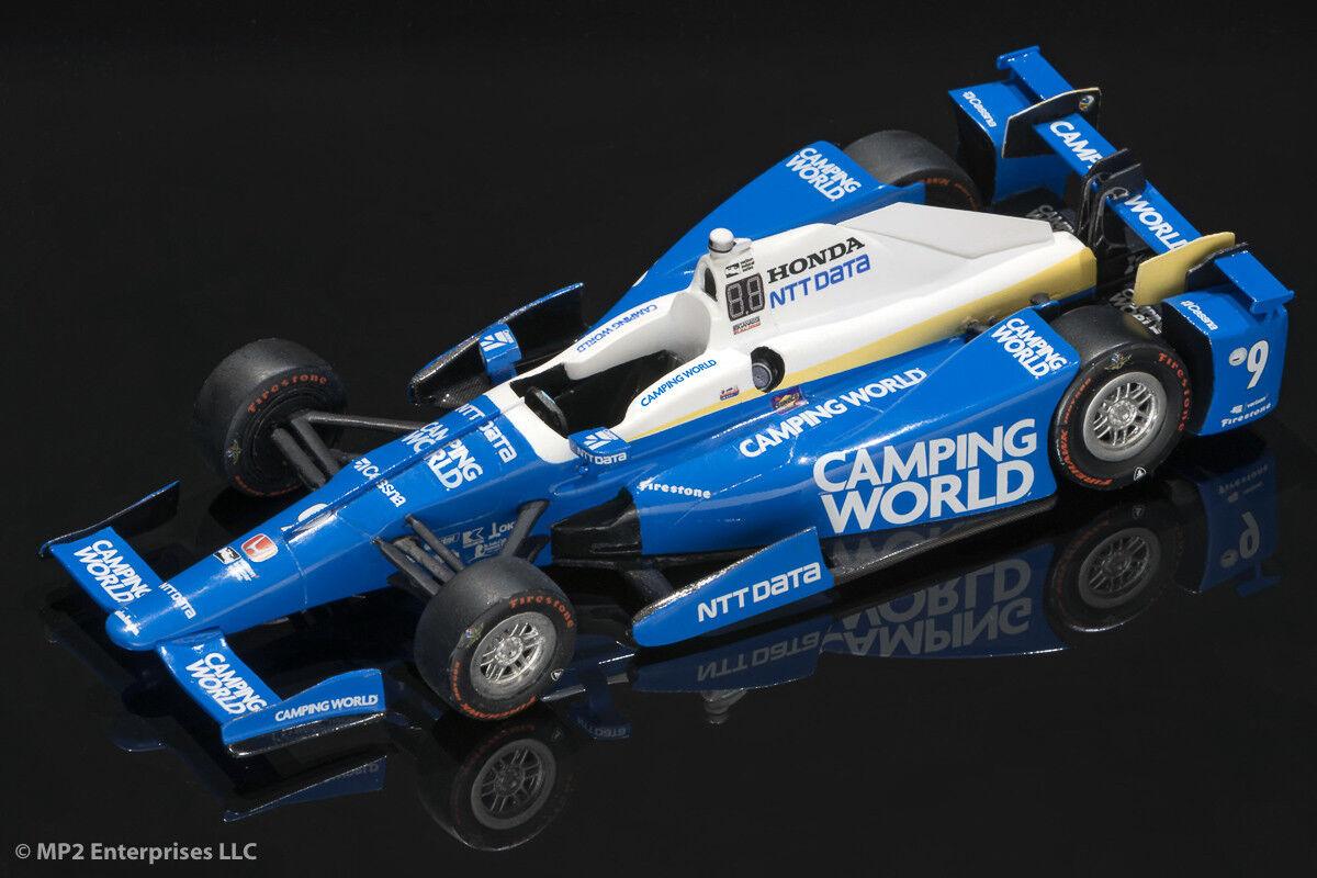 Scott Dixon 2018 Camping worldl Dallara Eau Transfert Autocollants fonctionne avec vertlight