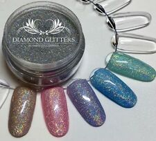 Ultra Fine Glitter For Gel Polish Nail art Silver Holographic Lunar Dust 5ml Pot