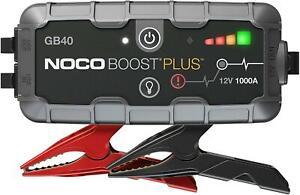 NOCO GB40 Plus Boost Plus 1000 Amp 12V UltraSafe Lithium Jump Starter