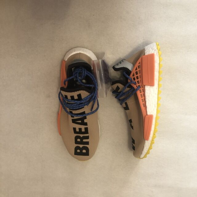 478bfeaa1d2c3 New With Box Adidas Pharrell Williams Human Race NMD TR AC7361 Pale Nude SZ  8
