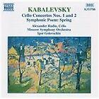 Dmitry Kabalevsky - Kabalevsky: Cello Concertos Nos. 1 and 2; Symphonic Poem Spring (1997)
