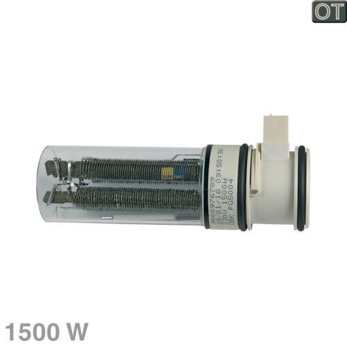 Élément Drahtheizung 1500W Lave-Vaisselle Bosch Siemens 00658791
