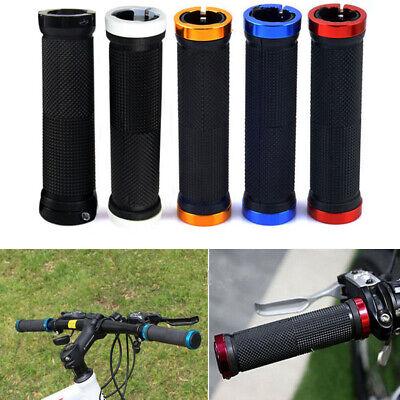 2pcs Bike Cycling Lock On Locking Mountain BMX Handle Bar Grips Sponge US US