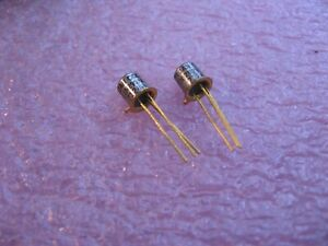 JAN-CGO-TX-2N2907-Texas-Instruments-Silicon-Si-PNP-Transistor-NOS-Qty-2
