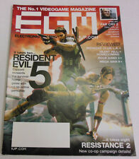 Electronic Gaming Monthly Magazine Resident Evil 5 November 2008 Exc 051013R