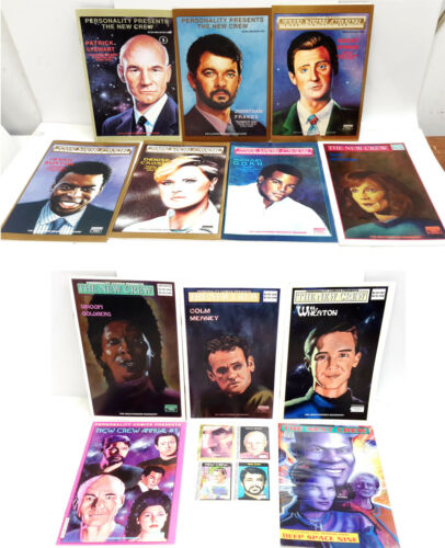 1991-92 Personality Comics Star Trek New Crew Comic Book Collection-Your Choice