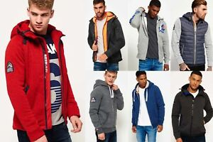 New-Mens-Superdry-Hoodies-Selection-Various-Styles-amp-Colours-0811