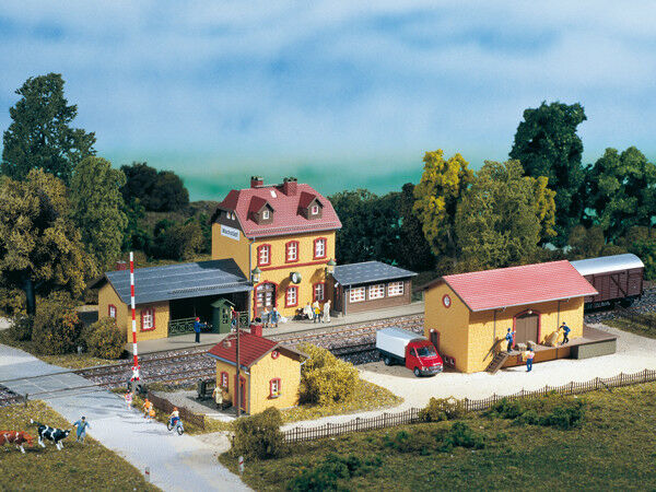 Auhagen kit 15102 NEW HO TT WACHSTADT STATION STARTER SET