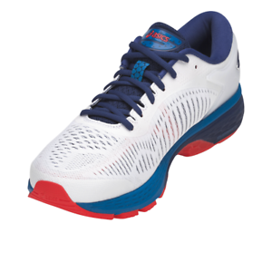 Details zu Asics Gel Kayano 25 - Herren Laufschuhe - Running - Weiß-Blau -  1011A019-100