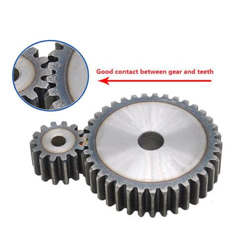 2.5Mod 10-120T Spur Gear 45# Steel Thickness 25mm Motor Pinion Transmission Gear