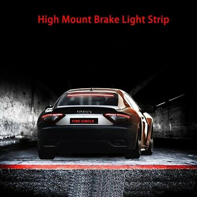 RGB Universal 40-Inch Roofline LED Third Brake Light Kit Above Rear Windshield
