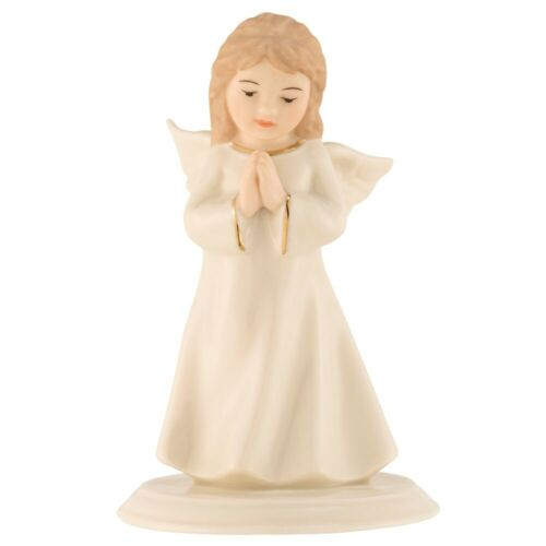 Belleek Mini Angel Of Prayer