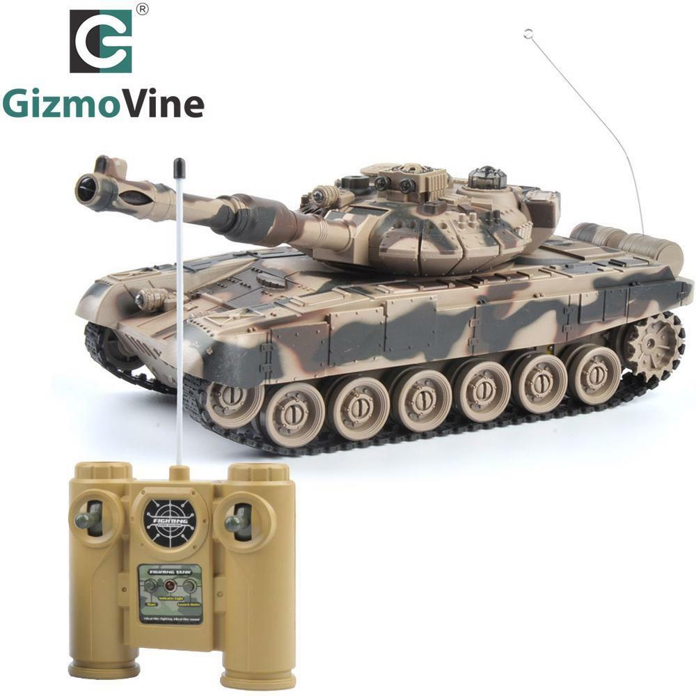 Rc Tank Infrared Rc Battle Tiger Tank Remote Control Tank Fort Rotate Fighting