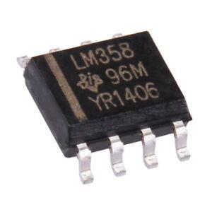LM358-SOP8-Dual-Operationsverstarker-Low-Power-Operational-Amplifier-LM358N-SMD