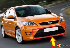 Nuevo-Genuino-Ford-Focus-ST-2008-2011-Parachoques-Delantero-Centro-Inferior-Grille-1523848