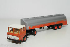 LION CAR LION TOYS 36 DAF 2600 TRUCK WITH TANKTRAILER DEMO PROMOTIONAL EXCELLENT
