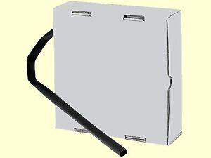 EUR 0,73/m Schrumpfschlauch schwarz 2:1 12,7mm Polyolefin 15m in Spender-Box