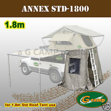 item 8 G CAMP 1.8M STD ANNEX ROOF TOP TENT CAMPER TRAILER 4WD 4X4 CAMPING CAR RACK -G CAMP 1.8M STD ANNEX ROOF TOP TENT CAMPER TRAILER 4WD 4X4 CAMPING CAR ...  sc 1 st  eBay & Coleman Northstar 8 Deluxe CV Camping Tent Co11720a | eBay