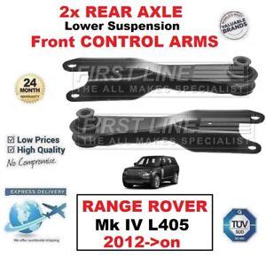 2x-Eje-Trasero-Suspension-Mas-Baja-Delante-Brazos-De-Control-Para-Range-Rover