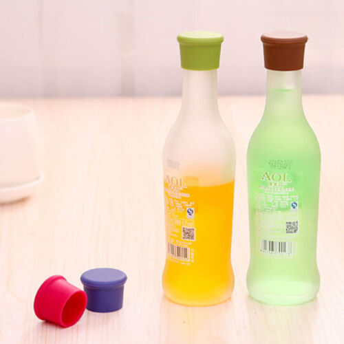 Reusable Silicone Wine Beer Top Bottle Caps Stopper Drink Savers Sealer Best ETC