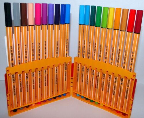 STABILO PEN 88 Colour Parade 20 er Box KLAPPBOX Fineliner 0,4 mm Fasermaler NEU