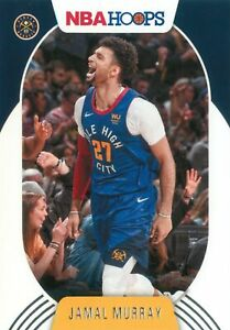 Jamal Murray 2020-21 Panini NBA Hoops Basketball Base Card #143 Denver Nuggets
