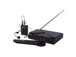 Proel wm kit microfono sistema microfonico wireless ebay