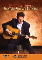 Bryan Sutton's Secrets For Successful Flatpicking Instructional Guitar 000641997