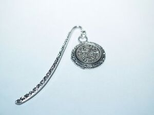 1964 Sixpence Coin Bookmark with Shiny Sixpence