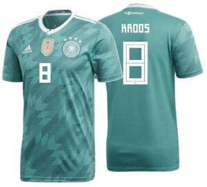 huge selection of ad5b3 4440b Details about ADIDAS TONY KROOS GERMANY AWAY JERSEY WORLD CUP 2018.