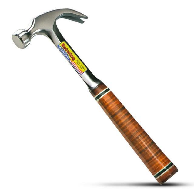 Estwing EWE20C 20oz Leather Grip Claw Hammer