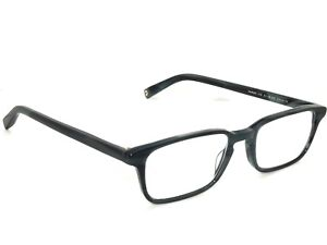 549bde3f1a9de Image is loading Warby-Parker-Eyeglasses-Hardy-175-Striped-Pacific- Rectangular-