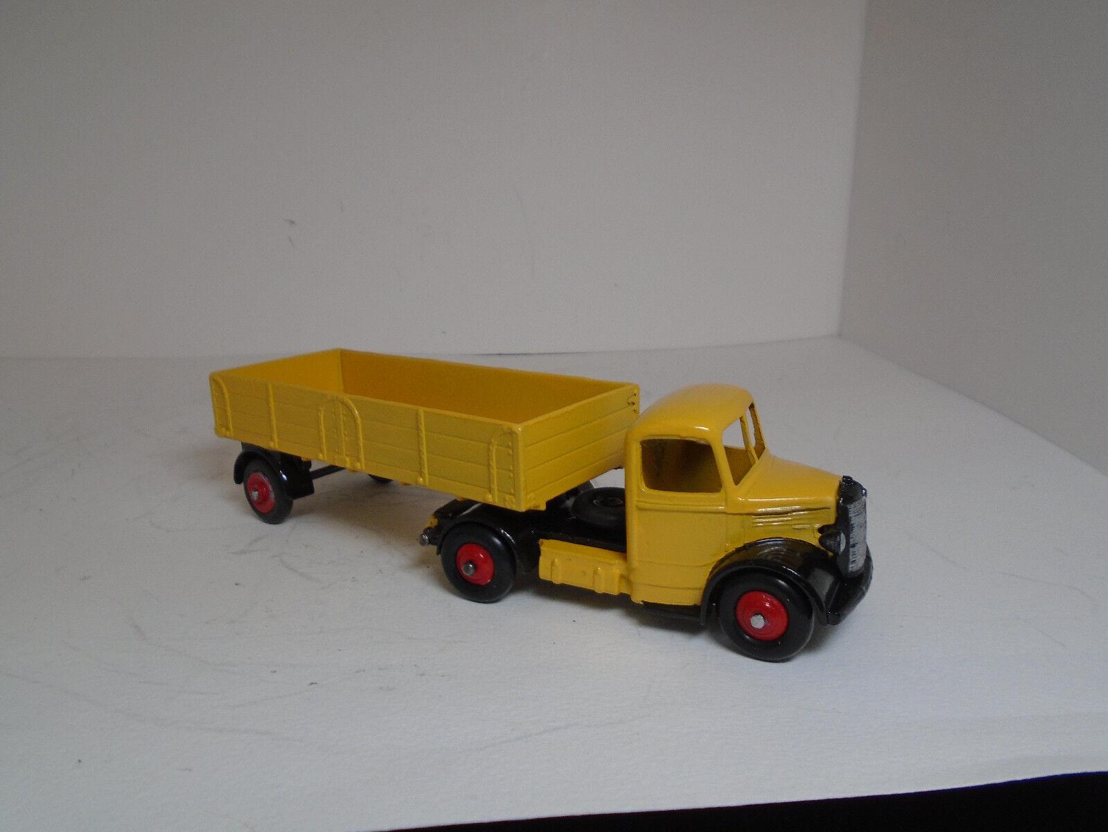 Vintage Dinky Toys No.521 Bedford camiones articulados, Restaurado Excelente a casi como nuevo