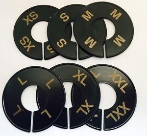 SIZE DIVIDER SET XS,S,M,L,XL,XXL 2 OF EACH  WHITE