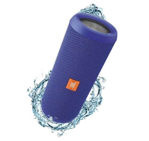 JBL Flip 3 Blue Splashproof Bluetooth Speaker