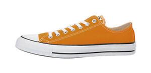 689155009e9e CONVERSE All Star CTAS Ox Orange Ray Yellow Sneakers Men Women ...