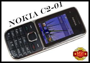 Nokia C Series C2-01 Black ,Gold Unlocked English Keyboard Bar Phone | UK
