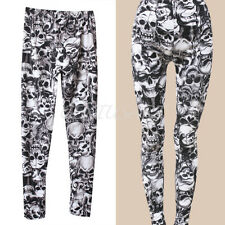 Donna Moda Leggings Fitness Pantaloni Pants Leggins Pantacollant Tights Legging