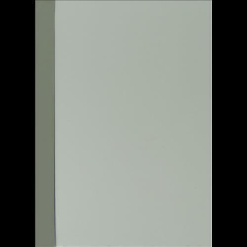 Abdeckfolie mit Kartonrand in Noblesse-Struktur für Surebind 100er Farbe grau