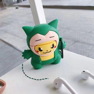 Kawaii Pokemon Snorlax Airpod Case