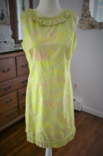"FLIRTY! Vtg 60s LILLY PULITZER ""The Lilly"" Pink &"
