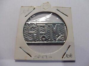 Ancienne Monnaie NÉcessitee Coloniale St Pierre & Miquelon 10 Frs- Sous Étuis !