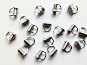 Chape-Clip-N-Spin-pour-Spinners-Lames-amp-leurres-facile-changement-de-lame-2-Tailles