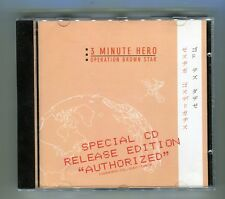 """3 MINUTE HERO © 1999 """" Operation Brown Star """" Release Edition"""