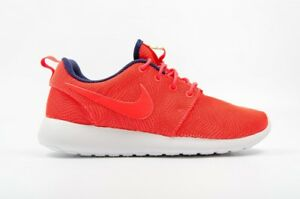 Nike Crimson Roshe 819961 blanco para 661 mujer Moiré One Shoes qtt7Srp