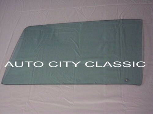 1968 Dodge Charger Plymouth Road Runner Hardtop Door Glass Right Pass Green Tint
