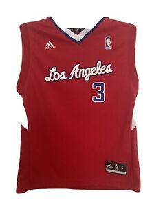 Adidas Los Angeles Clippers CHRIS PAUL Youth Basketball Jersey ...