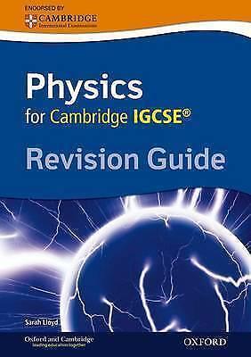 "1 of 1 - Cambridge Physics IGCSE Revision Guide. Sarah Lloyd ""BRAND NEW"""