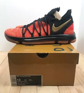 new arrival eb847 a937c Details about Nike Zoom KD 10 NFS Basketball Shoes Mens Size 13 Kevin  Durant University Red