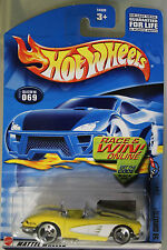 Hot Wheels 1:64 Scale 2001 Corvette Series '58 CORVETTE